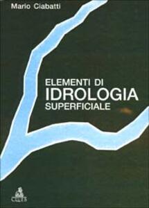 Elementi di idrologia superficiale