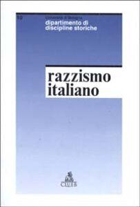 Studi sul razzismo italiano