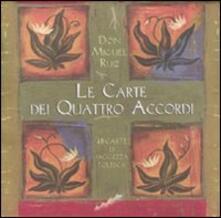 Le carte dei quattro accordi - Miguel Ruiz - copertina