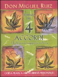 L' essenza dei 4 accordi - Miguel Ruiz - copertina