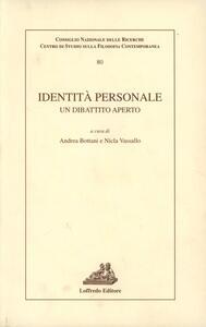 Identità personale (un dibattito aperto)