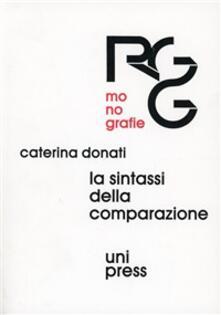 La sintassi della comparazione - Caterina Donati - copertina