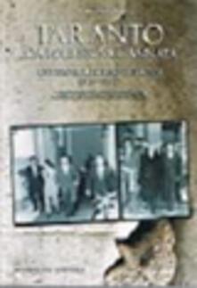 Taranto da Lorusso a Cannata ovvero il ritorno dei rossi (1971-1982)