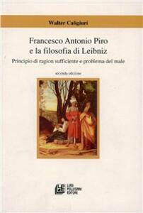 Francesco Antonio Piro e la filosofia di Leibniz