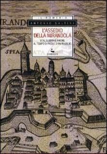 L' assedio della Mirandola. Vita, guerra e amore al tempo di Pico e di papa Giulio - Antonio Saltini - copertina