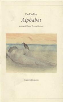Alphabet - Paul Valéry - copertina