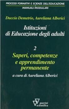 Voluntariadobaleares2014.es Istituzioni di educazione degli adulti. Vol. 2: Saperi, competenze e apprendimento permanente. Image