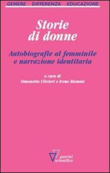 Voluntariadobaleares2014.es Storie di donne. Autobiografie al femminile e narrazione identitaria Image