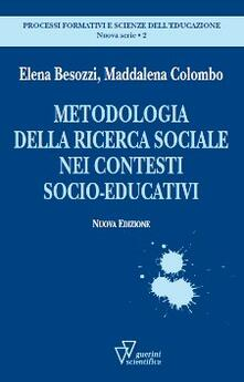 Rallydeicolliscaligeri.it Metodologia della ricerca sociale nei contesti socioeducativi Image