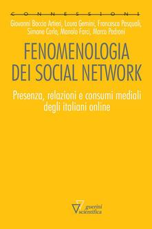Winniearcher.com Fenomenologia dei social network. Presenza, relazioni e consumi mediali degli italiani online Image