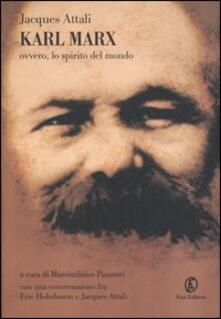 Voluntariadobaleares2014.es Karl Marx. Ovvero, lo spirito del mondo Image