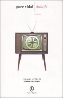 Duluth - Gore Vidal - copertina