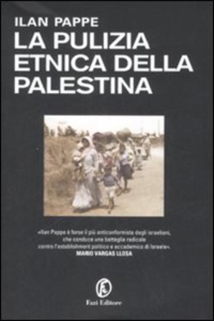 La pulizia etnica della Palestina - Ilan Pappé - copertina