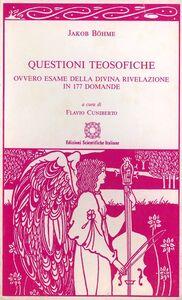 Questioni teosofiche ovvero esame della divina rivelazione in 177 domande