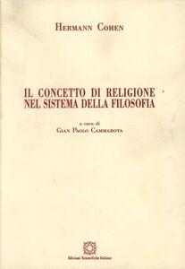 Il concetto di religione nel sistema della filosofia
