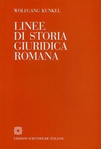 Linee di storia giuridica romana