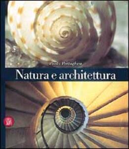 Natura e architettura - Paolo Portoghesi - copertina