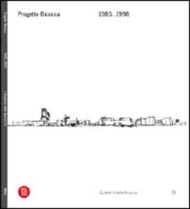 Progetto Bicocca. 1985-1998. Ediz. italiana e inglese - copertina