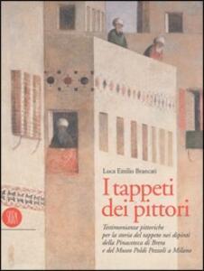 I tappeti dei pittori - Luca E. Brancati - copertina