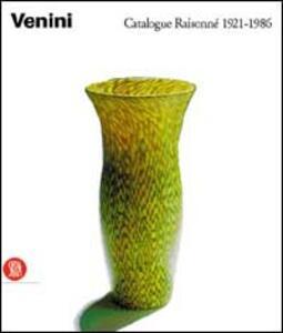 Venini. Catalogo ragionato 1921-1986. Ediz. francese - copertina