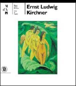 Ernst Ludwig Kirchner. Ediz. tedesca - copertina