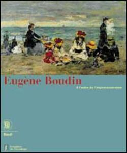 Eugène Boudin. Ediz. tedesca - copertina