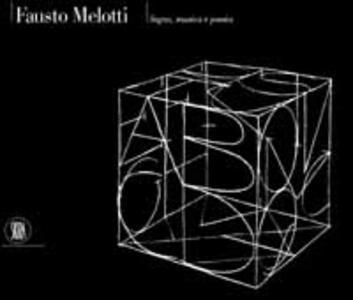Fausto Melotti. Segno, musica e poesia - copertina
