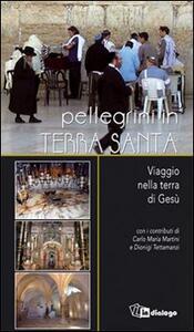 Pellegrini in Terra Santa. Viaggio nella terra di Gesù - Romeo Maggioni,Carlo Maria Martini,Dionigi Tettamanzi - copertina