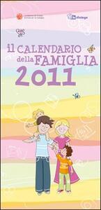 Il calendario della famiglia 2011 - copertina