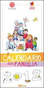 Il calendario della famiglia 2012 - copertina