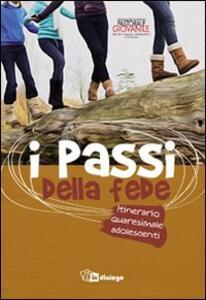 I passi della fede. Itinerario quaresimale adolescenti - copertina