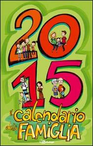 Il calendario della famiglia 2015 - copertina