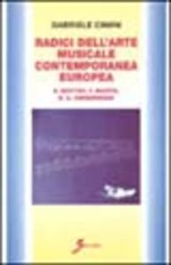 Radici dell'arte musicale contemporanea europea. B. Britten, F. Martin, B. A. Zimmermann