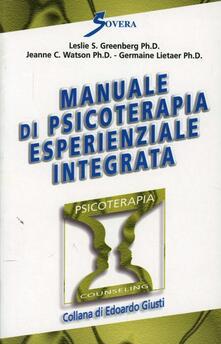 Associazionelabirinto.it Manuale di psicoterapia esperienziale integrata Image