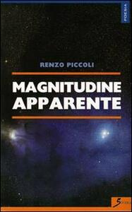 Magnitudine apparente - Renzo Piccoli - copertina