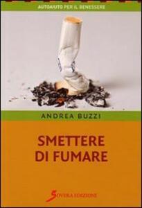 Smettere di fumare - Andrea Buzzi - copertina