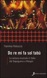 Do re mi fa sol tabù. La censura musicale in Italia dal dopoguerra a Morgan