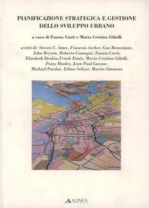 Pianificazione strategica e gestione dello sviluppo urbano - copertina