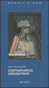 Contrapuntos cervantinos - Marìa A. Roca Mussons - copertina