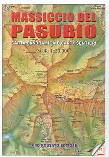 Charun.it Carta panoramica delle piccole Dolomiti e Prealpi vicentine 1:20.000. Con carta sentieri massiccio del Pasubio Image