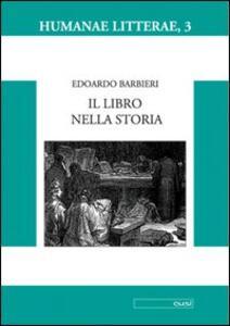 Il libro nella storia - Edoardo Barbieri - copertina