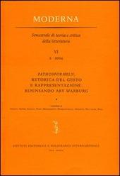 Pathosformeln, retorica del gesto e rappresentazione: ripensando Aby Warburg