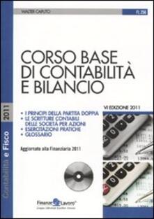 Antondemarirreguera.es Corso base di contabilità e bilancio. Con CD-ROM Image