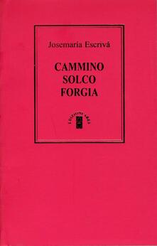 Cammino-Solco-Forgia - Josemaría Escrivá de Balaguer - copertina