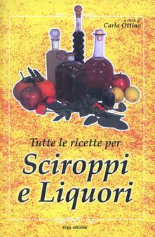 Winniearcher.com Tutte le ricette per liquori e sciroppi Image