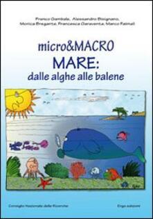 3tsportingclub.it Micro & macro. Mare: dalle alghe alle balene Image