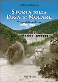 Storia della diga di Molare. Il Vajont dimenticato - Vittorio Bonaria - copertina