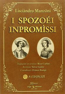 I Spozoéi inpromìssi - Alessandro Manzoni - copertina