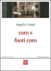Coro e fuori coro. Poesie 1995-2002
