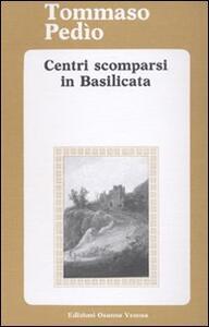 Centri scomparsi in Basilicata
